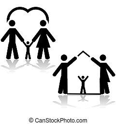 ζωή , οικογένεια