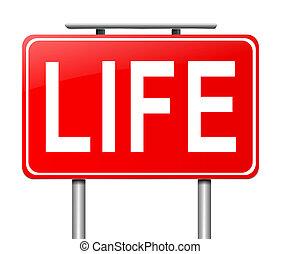 ζωή , concept.