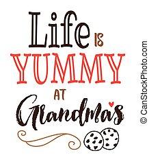 ζωή , yummy , grandma's