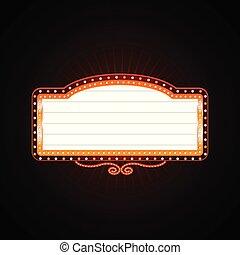 ζωηρά , καζίνο , λαμπερός , retro , καζίνο , φωτεινή επιγραφή