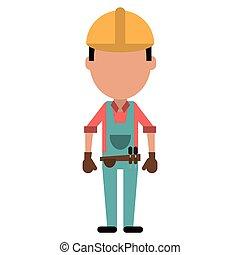 ζώνη , εργαλείο , δομή , γάντια , άντραs
