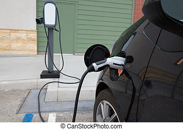 ηλεκτρικός άμαξα αυτοκίνητο , αναθέτω