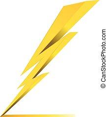 ηλεκτρικός , κεραυνός , σύμβολο , κατηγορώ , μικροβιοφορέας , εικόνα