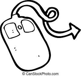 ηλεκτρονικός εγκέφαλος ποντίκια , γελοιογραφία