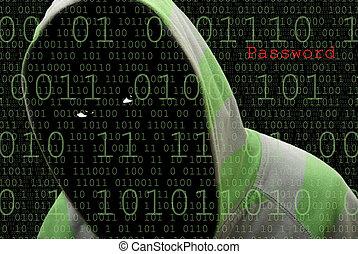 ηλεκτρονικός εγκέφαλος hacker