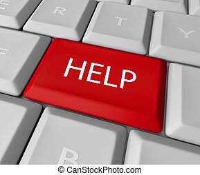 ηλεκτρονικός υπολογιστής , βοήθεια απάντηση , πληκτρολόγιο