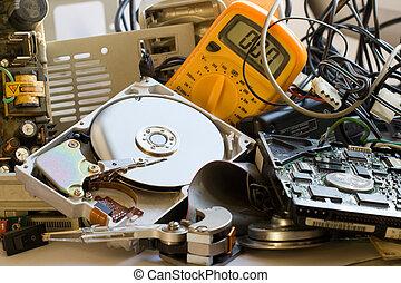 ηλεκτρονικός υπολογιστής , γριά , κομμάτια