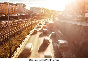 ηλιακό φως , εθνική οδόs