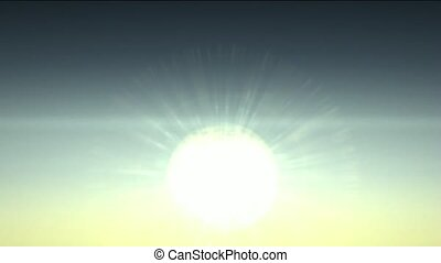 ηλιακό φως , μέσα , χαράζω , ουράνιος