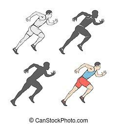 ηλικία , γρήγορο τρέξιμο , μαραθώνας , οποιαδήποτε