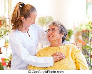 ηλικιωμένος άσυλο , προσοχή