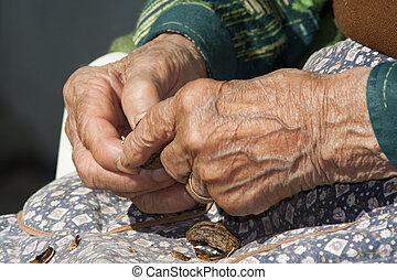 ηλικιωμένος , ανάμιξη
