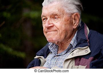 ηλικιωμένος ανήρ