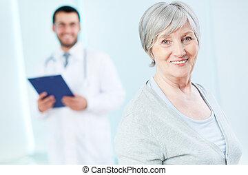 ηλικιωμένος , ασθενής