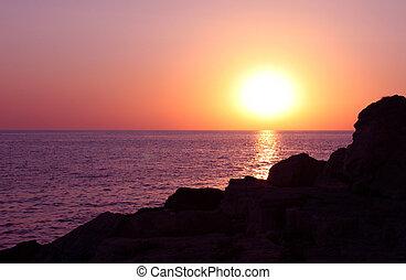 ηλιοβασίλεμα , γραφικός