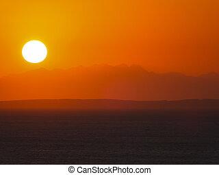 ηλιοβασίλεμα , ερυθρά θάλασσα