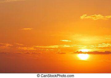 ηλιοβασίλεμα , θήρα , γραφικός