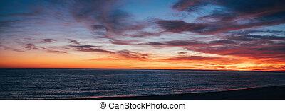 ηλιοβασίλεμα , seascape.