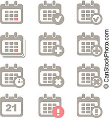 ημερολόγιο , μικροβιοφορέας , θέτω , απεικόνιση