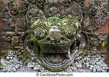 ημιανάγλυφο , ιάβα , κρόταφος , ινδονησία , prambanan