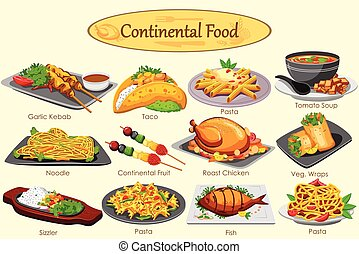 ηπειρωτικός , τροφή , συλλογή , υπέροχος