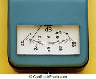 ηχόμετρο , μέτρο