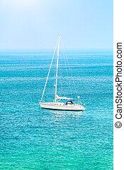 θάλασσα , ιστιοφόρο
