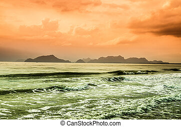 θάλασσα , κύμα