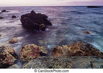 θάλασσα , tenerife , ακτή