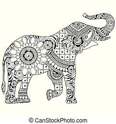 θέα , ελέφαντας