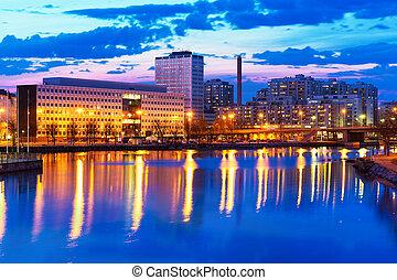 θέα , χέλσινκι , βράδυ , φινλανδία