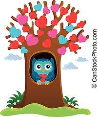 θέμα , δέντρο , εικόνα , ανώνυμο ερωτικό γράμμα
