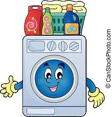θέμα , μηχανή , πλύση , εικόνα