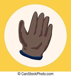 θέμα , στοιχεία , γάντια , εργαζόμενος