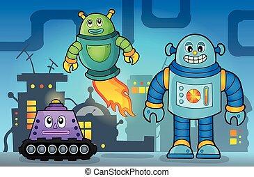 θέμα , 5 , ρομπότ , εικόνα