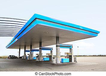 θέση , αέριο