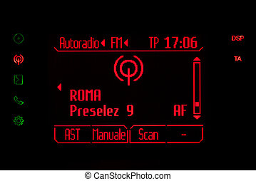 θέση , ραδιόφωνο