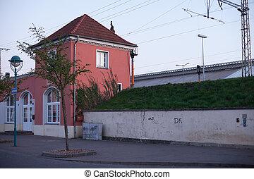θέση , frankfurt , (oder)