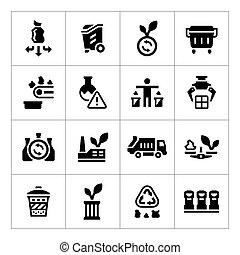 θέτω , απεικόνιση , από , ανακύκλωση