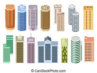 θέτω , γελοιογραφία , ουρανοξύστης