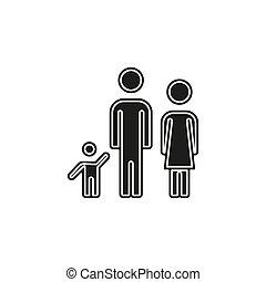 θέτω , γονιόs , οικογένεια , άνθρωποι , πατέραs , μητέρα , - , περίγραμμα , εικόνα , παιδί , εικόνα