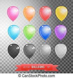 θέτω , δώδεκα , μπαλόνι