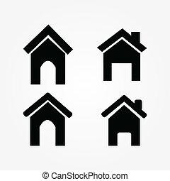 θέτω , εικόνα , σπίτι , μικροβιοφορέας