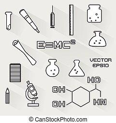 θέτω , επιστημονικός , απεικόνιση