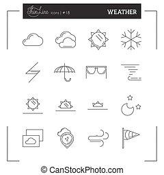 θέτω , θερμοκρασία , απεικόνιση , λεπτός , καιρόs , γραμμή , περισσότερο
