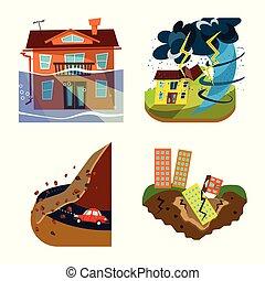 θέτω , καταστροφή , σύμβολο , web., εικόνα , μικροβιοφορέας...
