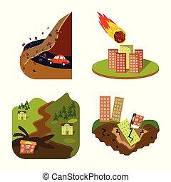 θέτω , καταστροφή , σύμβολο , web., σύμβολο. , εικόνα ,...