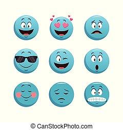 θέτω , κουβέντα , γραφικός , σχεδιάζω , emoticons