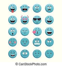 θέτω , κουβέντα , μπλε , γραφικός , σχεδιάζω , emoticons