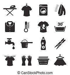 θέτω , μπουγάδα , απεικόνιση